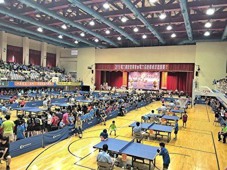 2019電力盃睦鄰桌球邀請賽在新北市板樹體育館舉行