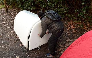 遊民不再露宿!英法民間打造安全溫暖小屋