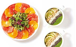 夏天不用蒸的冷便當: 柑橘拼盤