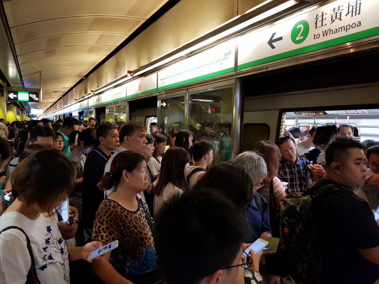 【反送中】730「全港大塞車」多條港鐵線一度癱瘓