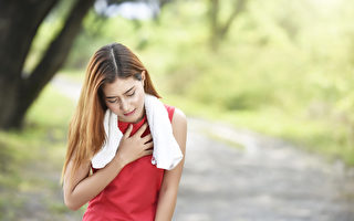 夏天也是心血管疾病发作的高峰期,注意预防血管堵塞。(Shutterstock)