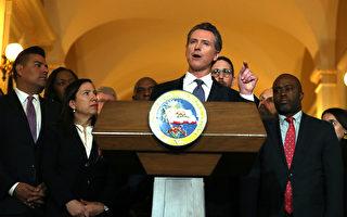 州長紐森收取PG&E競選捐款 被詰問是否正當