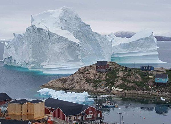 美國還聯合盟友國家,成功阻止了中共的格陵蘭機場建設計劃。圖為格陵蘭島。(MAGNUS KRISTENSEN/Ritzau Scanpix/AFP)