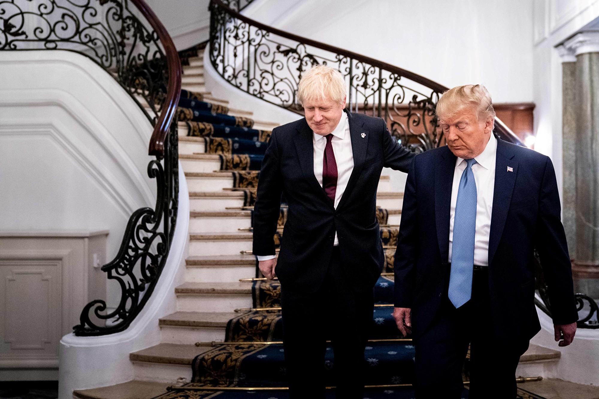 G7峰會 特朗普和英首相會面談及華為和香港