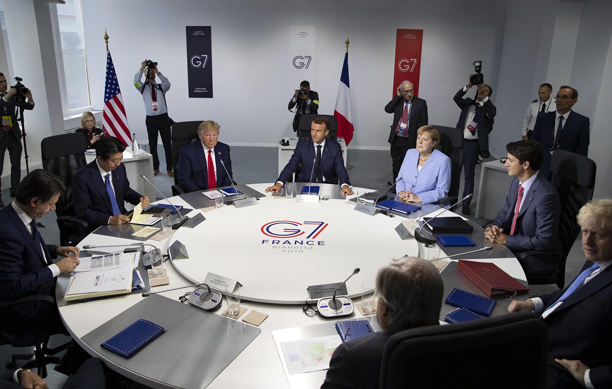G7峰會挺香港:中英聯合聲明存在且重要