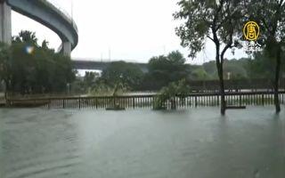 豪大雨强袭中南部!3县市25行政区淹水警戒