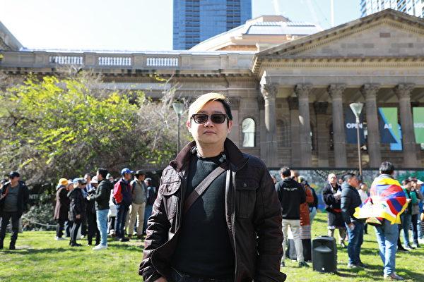 Raymond在2014年雨傘運動失敗後離開香港,定居澳洲。(Grace Yu/大紀元)