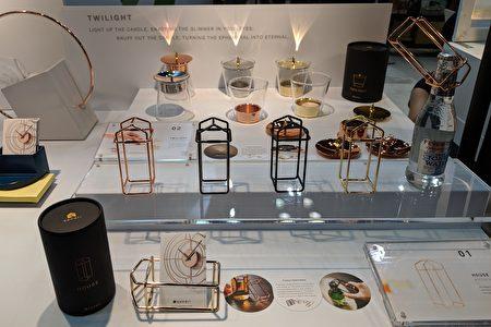 """""""翔咏设计公司""""(Kanari)以金属为底材,设计出""""House房屋开瓶器""""、""""永恒烛台""""等产品,兼具实用性和质感。"""