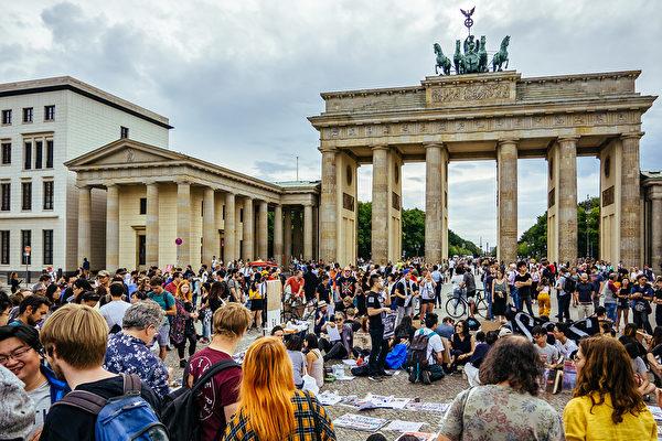 旅德港侨:多数德国人支持声援香港反送中