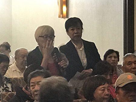 活動期間,觀眾提出各種身體健康問題,徐院長一一給予詳細解答。