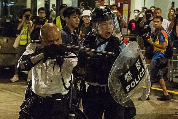 傳8.11遊行或直接拘捕示威者 港警否認