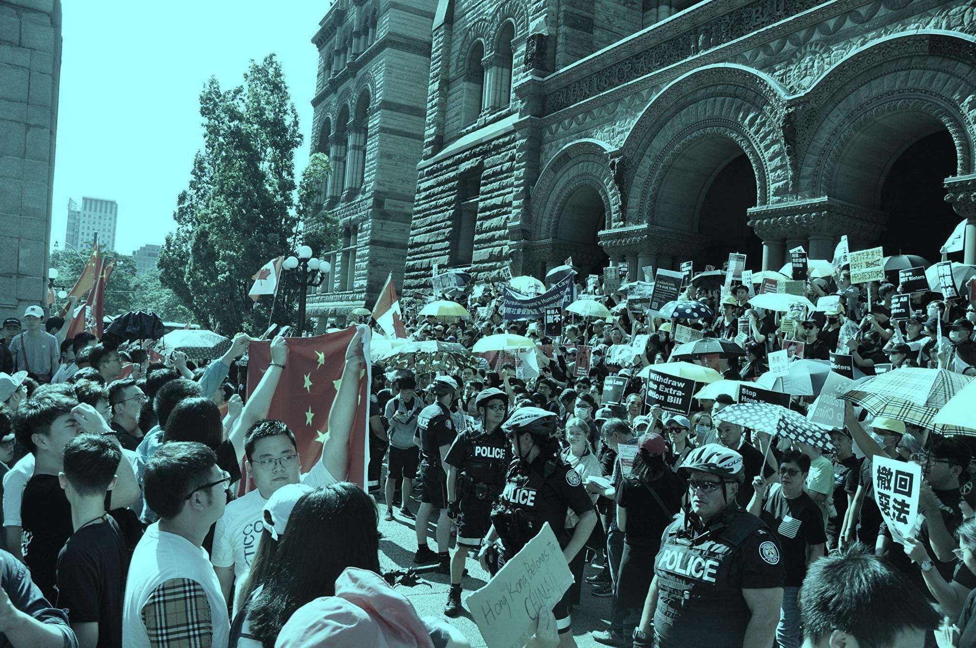 王友群:中共在香港問題上與各國為敵