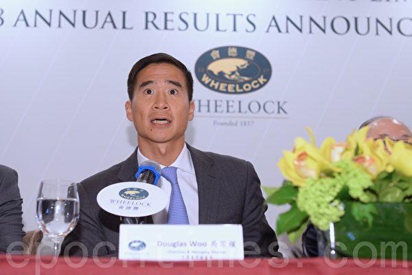 香港会德丰中期纯利减3% 中期息按年增5%