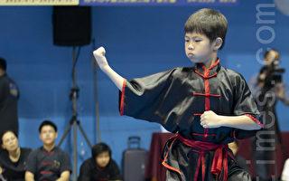 台少年選手展示大內八極拳 恩師寄重望