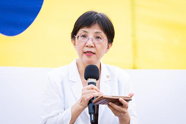 台大新聞研究所教授張錦華。(陳柏州/大紀元)