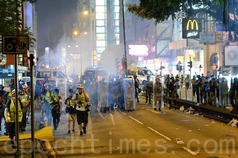 8.3反送中 警方三區放催淚彈 一再激民憤