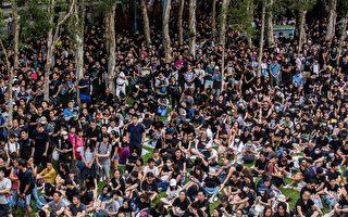 """香港富二代走上街头""""我有楼 但更要自由"""""""