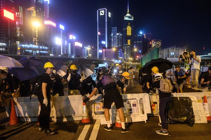 【8.5反送中】香港「三罷」3000多機場員工「請假」