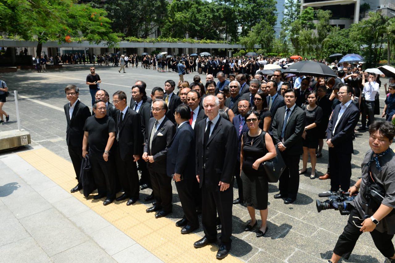 【8.7反送中】香港法律界3000人再度黑衣遊行