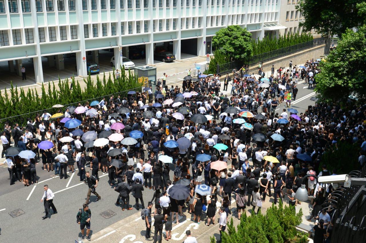 德國憂香港局勢 籲保障港人言論與遊行權利