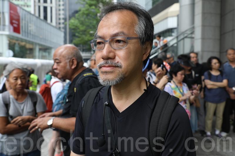 港議員張超雄:林鄭將香港推落懸崖