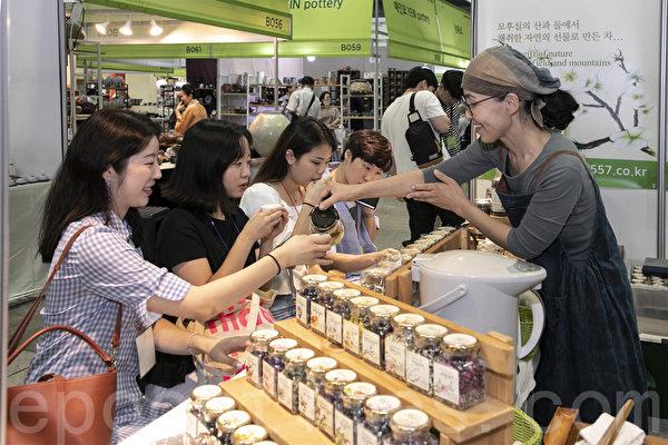 組圖:茶道當紅 茗園世界茶博覽會首爾登場