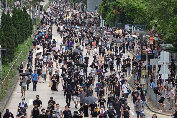 8.11反送中 港民:守护香港 害怕也要站出来