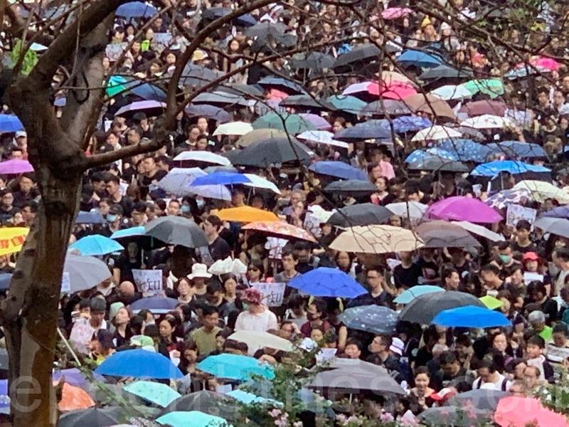 【8.17反送中】香港教育界集會遊行 守護下一代守護良知