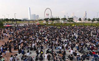 组图:8.22香港中学生集会反送中