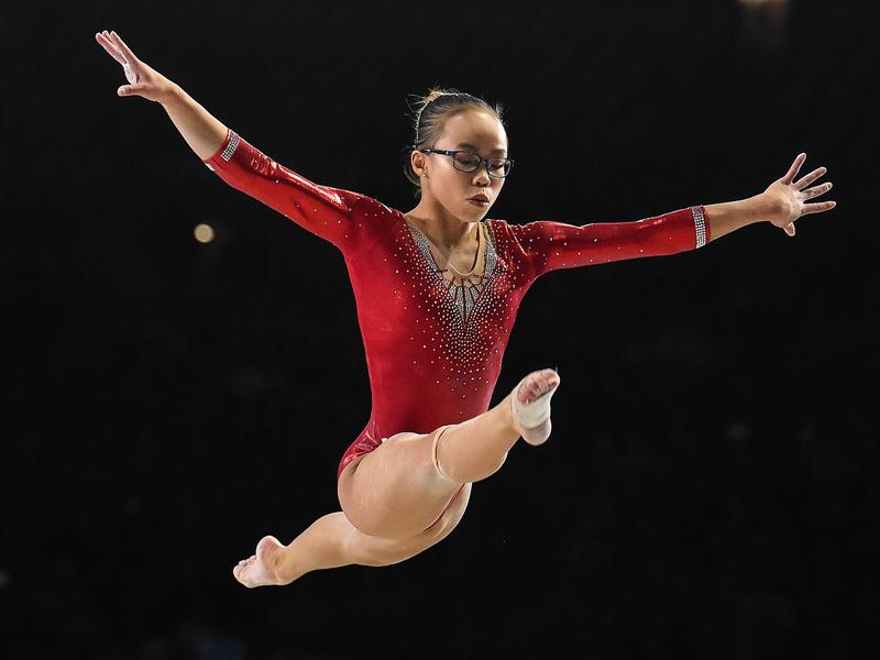 【專訪吳穎思】從中國棄嬰到世界體操冠軍