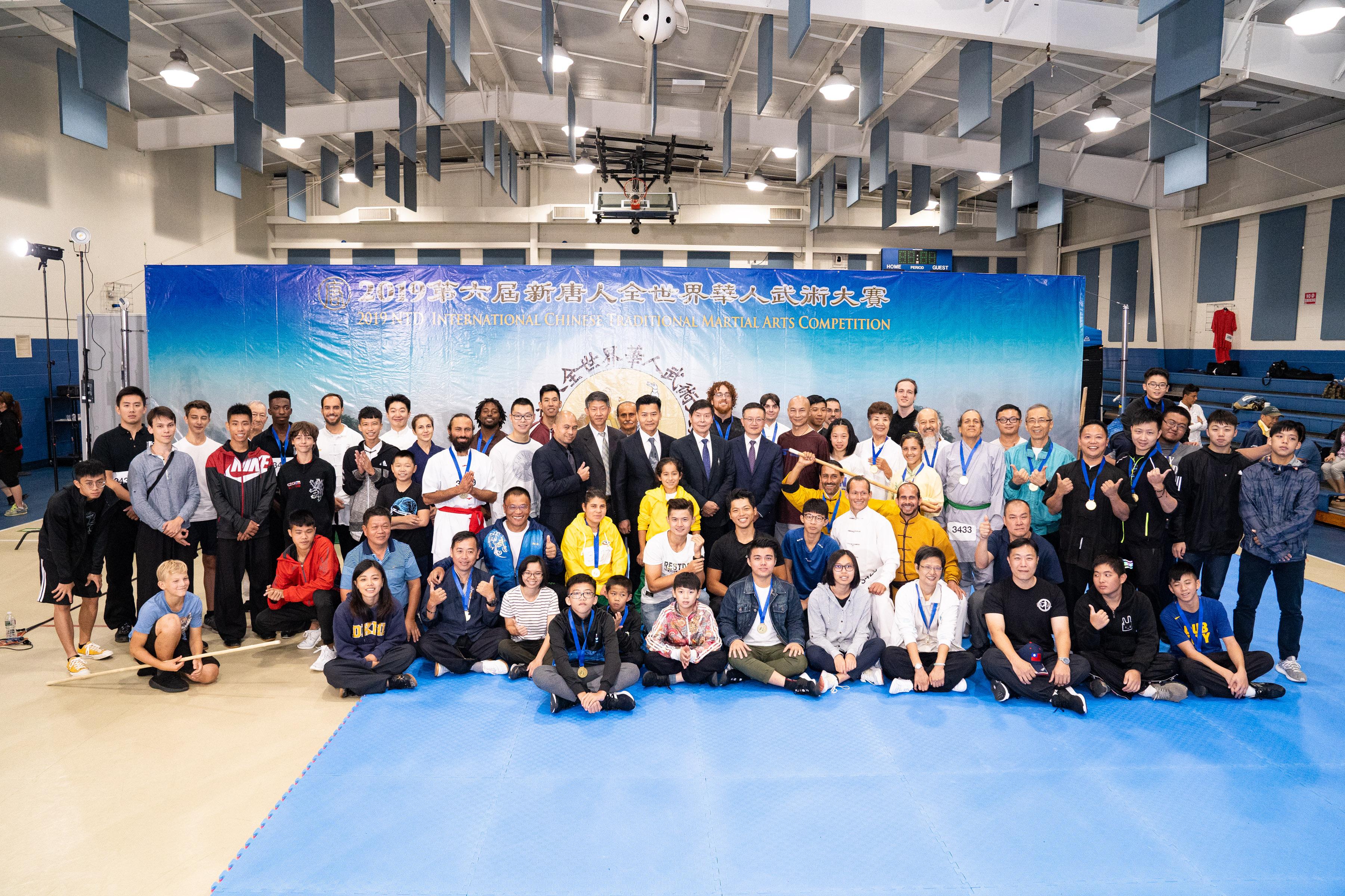 新唐人武術大賽初賽結束 傳統武術深入人心