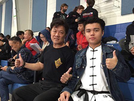 台湾国家武术裁判及教练黄健诚希望新唐人比赛规模越来越大。
