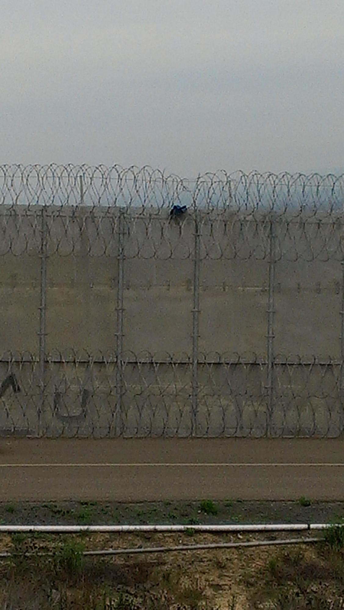 美墨邊境。(哈瑞斯提供)