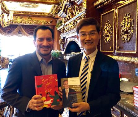 加州眾院議長藍道安訪問臺灣