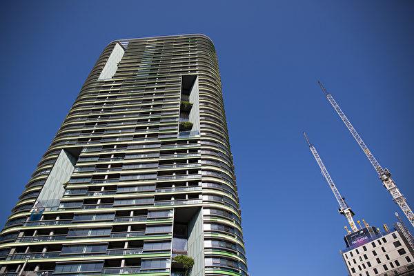悉尼存建筑缺陷的澳宝塔楼(Opal Tower)