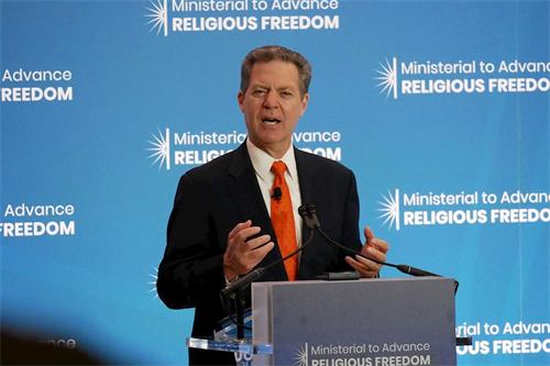 【直播】美國宗教自由大使紐約演講