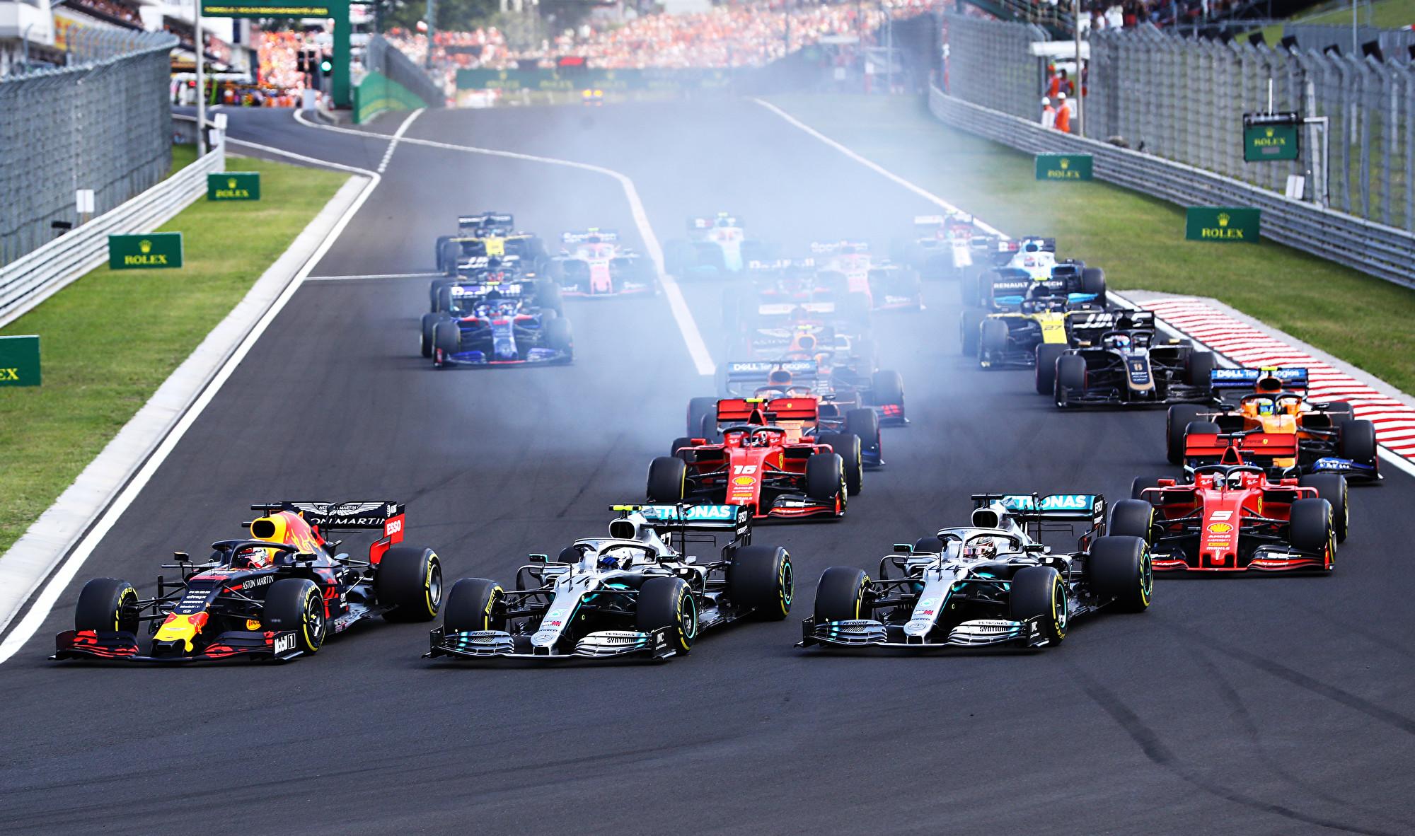F1匈牙利站:红牛领先67圈遭汉密尔顿逆转