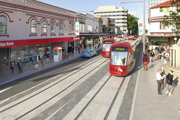 悉尼帕拉馬塔輕軌二期項目