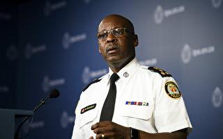 多倫多警察總長桑德斯辭職了