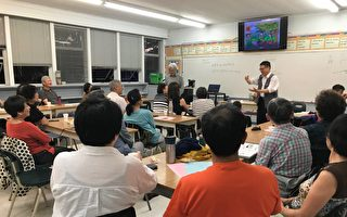 图:2019年温哥华幼童华语教学座谈会,分享突破华语学习的秘诀。