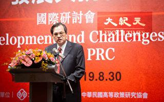 陳明通:中國民主化兩岸才有和平