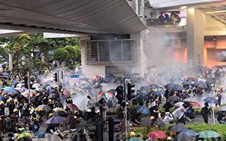 視頻:香港勇武派歸來 受到英雄式歡迎