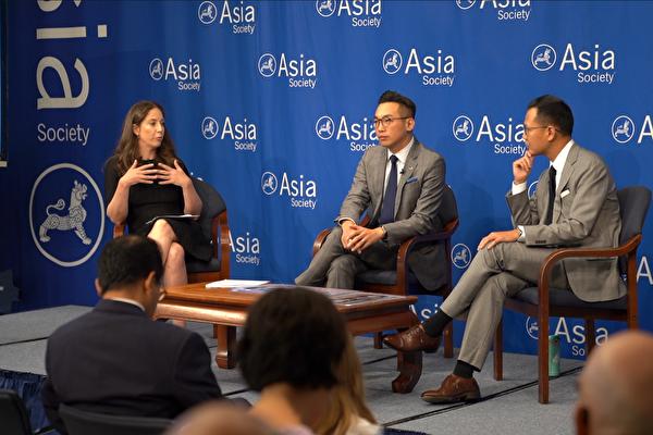 港議員紐約座談會:讓國際了解香港情況