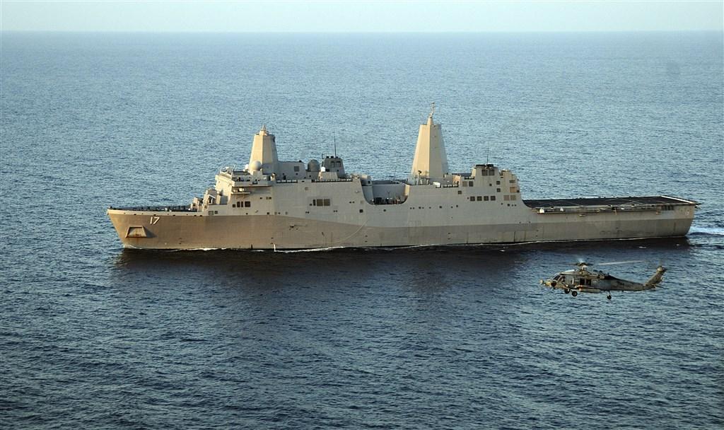 美國軍艦再度通過台灣海峽 為今年第七次
