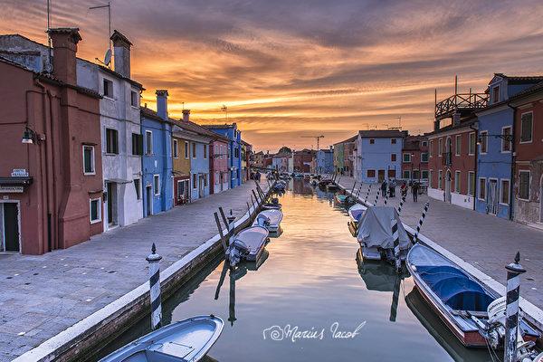組圖:意大利的五彩島嶼—威尼斯布拉諾島