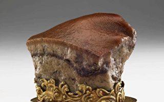 「肉形石」巧雕酷似東坡肉  巧從何來?