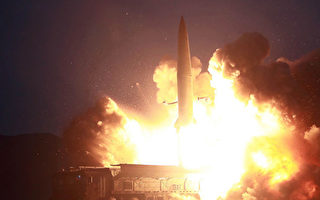 朝鮮發射兩枚導彈當天 高級將領訪華