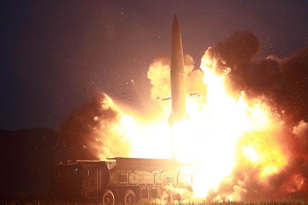 北韓發射兩枚導彈當天 高級將領訪華