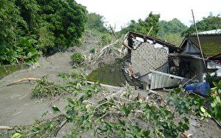 暴雨袭名间 三栋民宅遭土石淹没