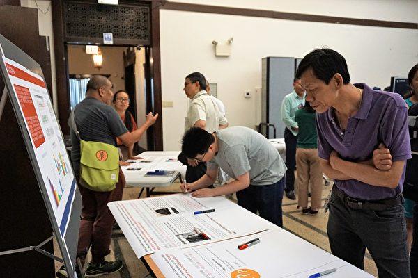 「華埠停車管理」開放日 民眾積極參與討論